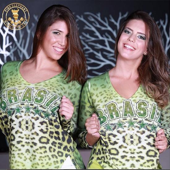 Bruna Capelli e Lorena Finotti estarão entre as belezas que vão pontificar na Pink Elephant para acompanhar o jogo do Brasil, nesta terça 17/06 (Foto: Instagram)