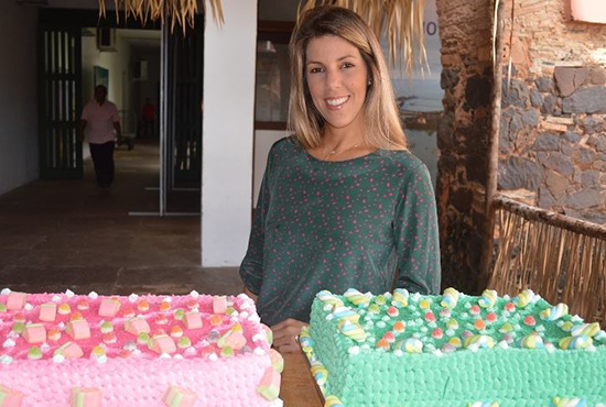 """Anna Graziella Costa no encerramento do """"Férias com Arte"""", no Convento das Mercês (Foto: Reprodução / Facebook)"""