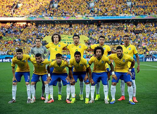 Seleção brasileira 2014 (Divulgação)
