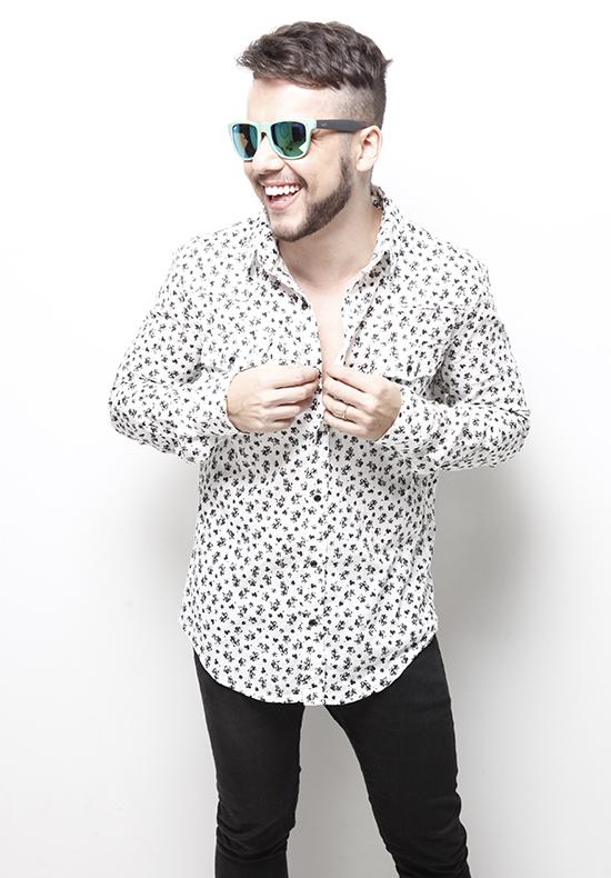 DJ Ric Lucas, da Vitoria Haus (Foto: Divulgação)