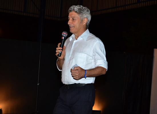 Caco Barcellos profere palestra em São Luís, em outubro (Foto: Reprodução)