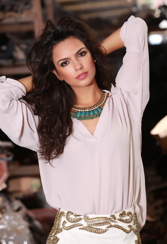 Miss Maranhão Larissa Pires (Foto: Ayrton Valle)