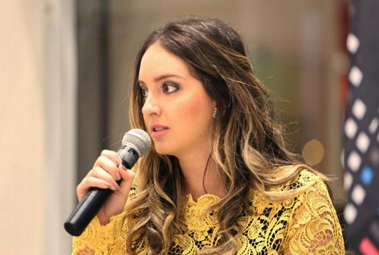 Blogueira Lelê Saddi, atração do bate-papo do SLZ Fashion Pop Up (Foto: Marcus Studio)