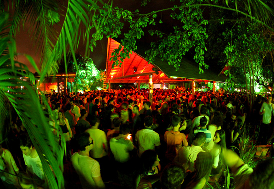 Panorama do Warung Beach Club, em Itajaí, SC (Foto: Reprodução)