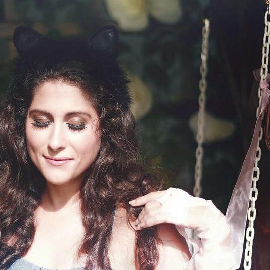 Nathália Ferro, às voltas com o lançamento de Alice Ainda (Foto/Reprodução: Laila Razzo)