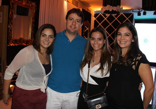 Lorena Rabelo, Gustavo Carvalho, Rafaela Albuquerque e Luiza Zaidan