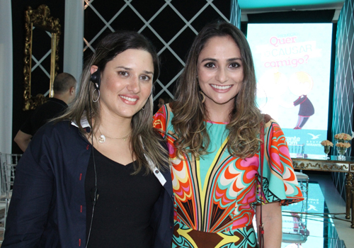 Karina Marçal (leia-se-se Essencial Cerimonial & Eventos, que cuidou de todo o cerimonial do evento) e Maria Fernanda Sarney Santos.