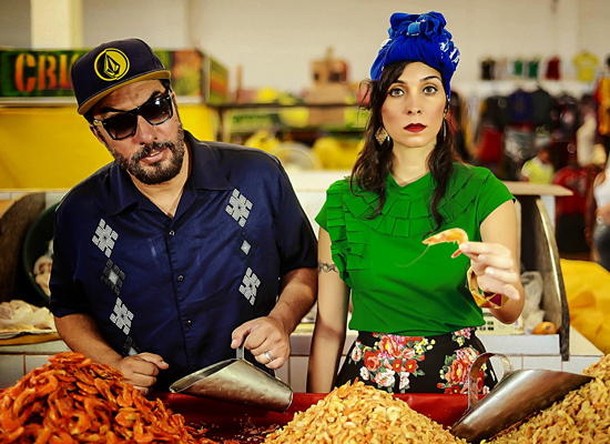 Alê Muniz e Luciana Simões, do duo Criolina, abrem a lista de apostas do cenário musical maranhense listada por blog de O Globo (Foto: Reprodução)