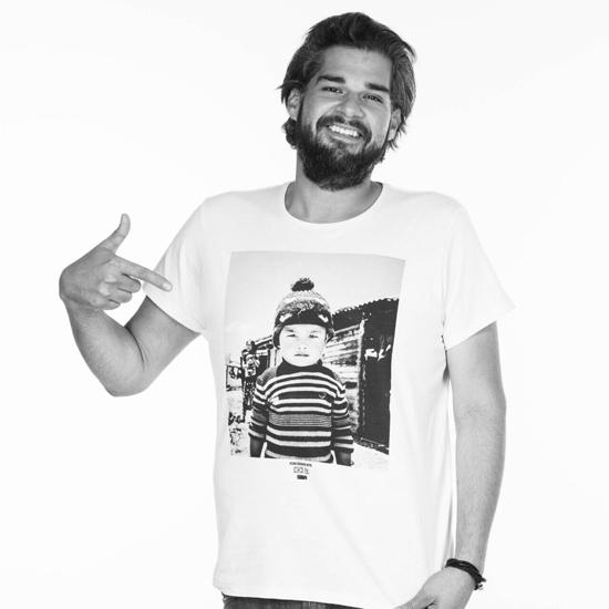 """Elias """"Teté"""" Vieira, em campanha pelo Nepal (Foto/Reprodução: Daniel Wickbold)"""