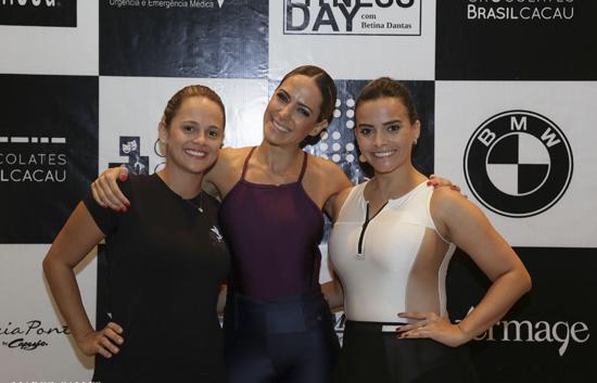 A musa criadora do balé-fitness entre Lina e Rafaela Albuquerque.