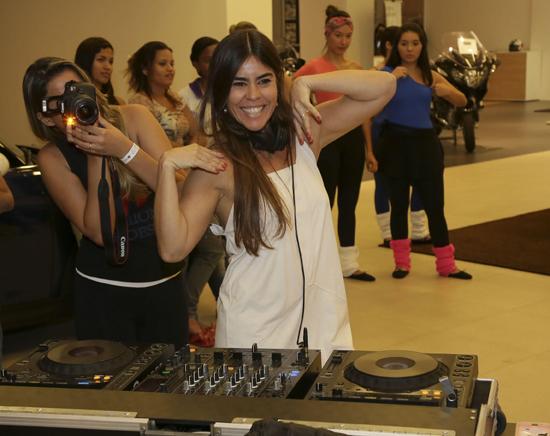Ericka Braga em evento em São Luís (foto/Reprodução)