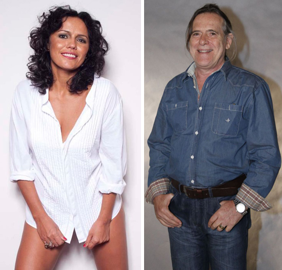 Dadá Coelho e José de Abreu estão namorando (Foto/Reprodução)