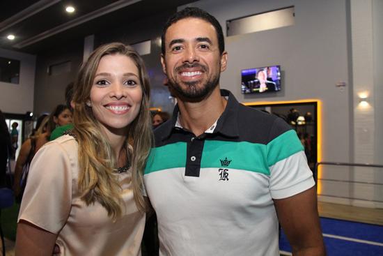 Rafaela e Marcelo Moreira.