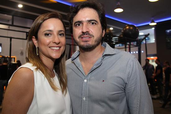 Raíssa Murad e Rodrigo Lauande.