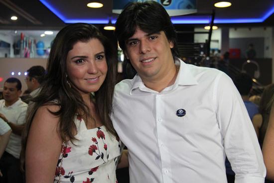 Patrícia Kelly Oliveira e Severino Sales.