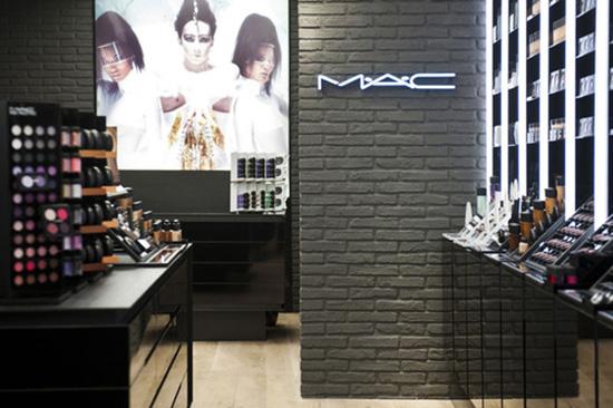 Reprodução de uma loja padrão da M.A.c.