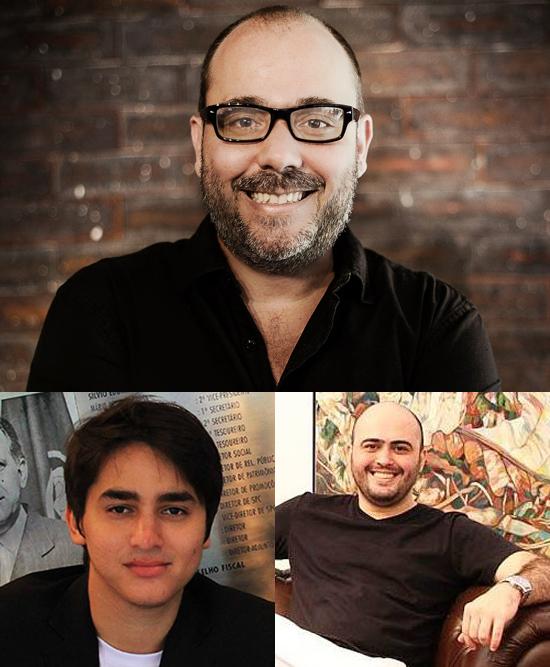 Em sentido horário: Luiz Coutinho, Gabriel Ramalho e Erickson Monteiro, palestrantes do Plugcitários São Luís (Foto/Reprodução: Assessoria)