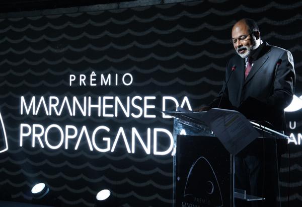 Romulo Barbosa, diretor de Mídias Eletrônicas do Grupo Mirante, fez o discurso de abertura (Divulgação)