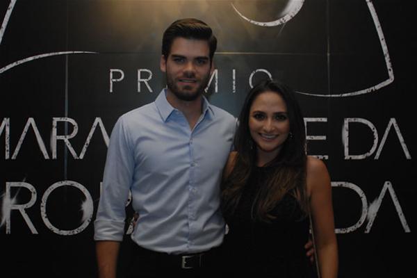 Felipe Santos e Maria Fernanda Sarney Santos - ela, diretora de plataforma digitais do Grupo Mirante (Divulgação)