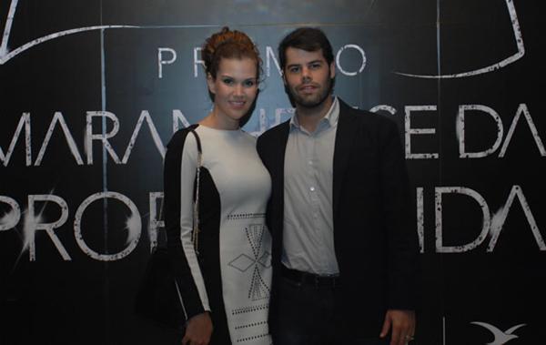 Mariana e Marcus Sarney - ele, diretor comercial do Jornal O Estado MA (Divulgação)