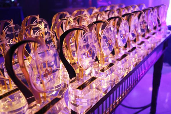 Troféus The Best, entregues pelo colunista Nedilson Machado (Foto: Ilustração)