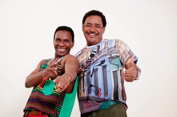 Beto Jamaica e Compadre Washington, únicos da formação original do É o tchan, de volta a São Luís (Foto/Reprodução)