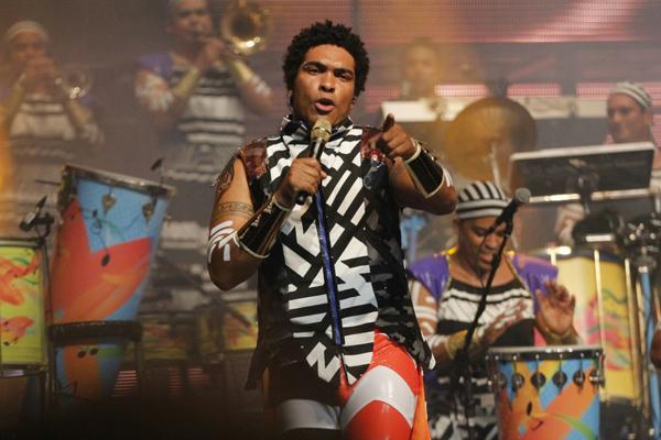 Denny Silva, vocalista da Timbalada, que volta a São Luís no próximo dia 30 (Foto/Divulgação)