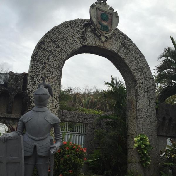 Castelo Dovera, no Araçagi, palco da festa Majestic (Foto/Reprodução: Instagram)