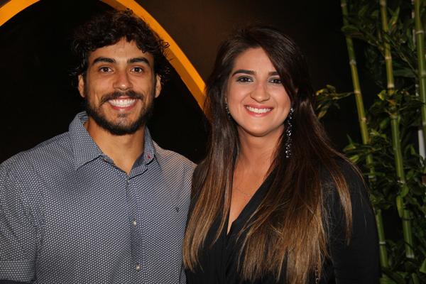 Fábio Victor Araújo e Milena Estrela