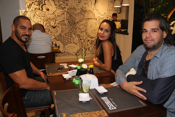 Silvio Silva, Solange Mendes e Elias Teté Vieira