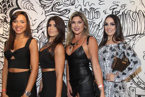 Natália Brasil, Nathalia Adamian, Tiara Nava e Jéssica Porto