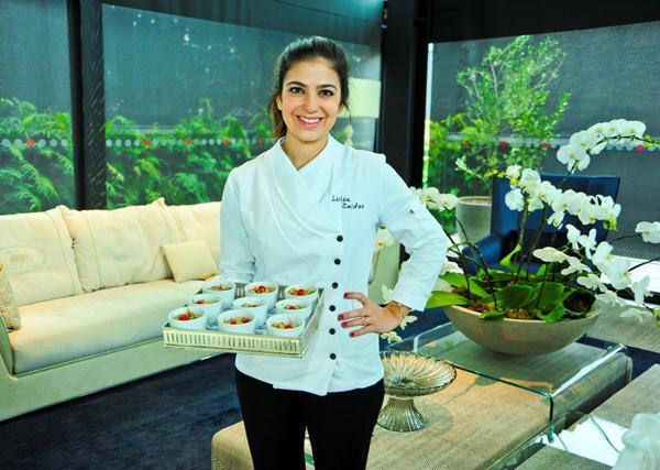 Lu Zaidan ministra curso de culinária na Casar Bem 2016 (Foto: Reprodução)