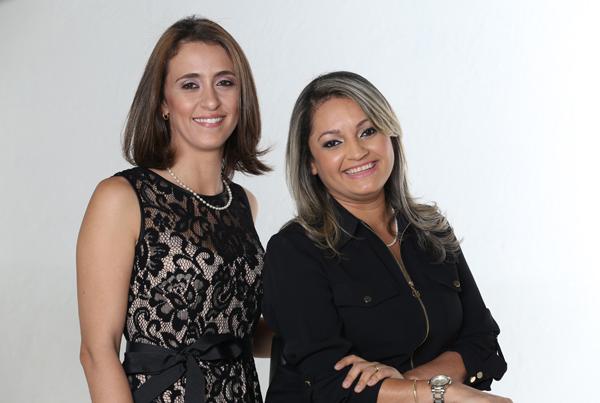 Rafaela Scaparti e Adriana Guerra, as meninas da Tetto, ministram curso de decoração (Foto/Divulgação)