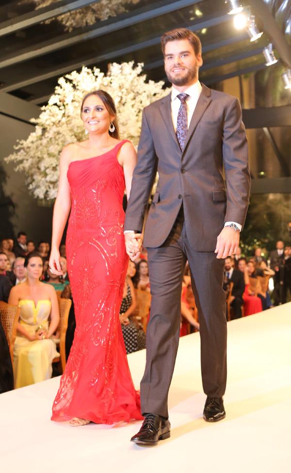 Maria Fernanda e Felipe Saldanha Santos