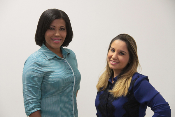 Liliane Cutrim e Cíntia Araújo (Foto: Biaman Prado)