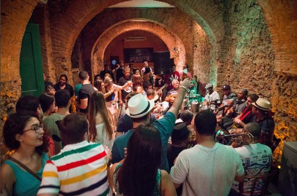 Um dos espaços do Samba do Armazém (Foto: Divulgação)
