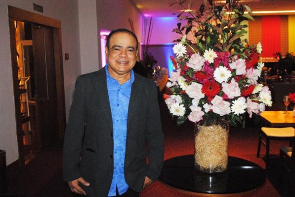 Nedilson Machado na edição passada do Baile da Primavera (Foto/Divulgação: Eduardo Brandão)