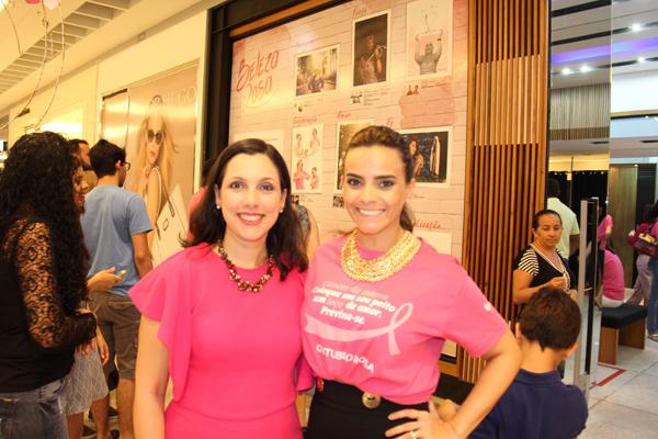 Rachel Cossetti e Rafaela Albuquerque, em mais uma parceria em prol da Fundação Antônio Dino (Foto/Reprodução: Marcela Simplício)