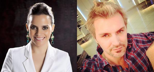 Rafaela Albuquerque e Círio Sens comanda palestra no lançamento do Causar 2016 (Foto/Reprodução)