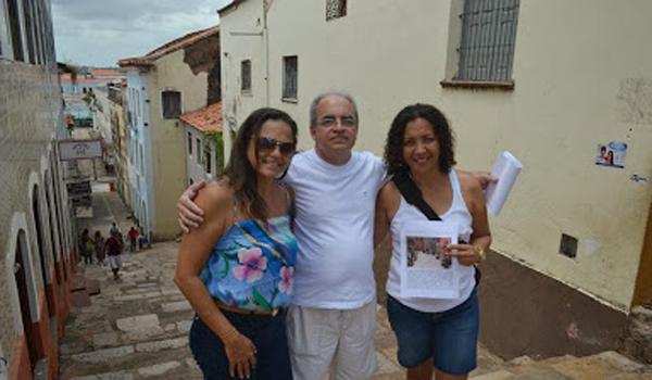 Pais da Criança em visita a Escadaria Catarina Mina.