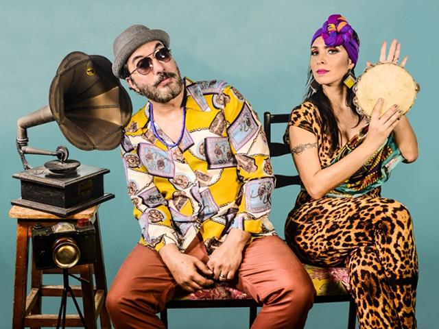Alê Muniz e Luciana Simões (Criolina)