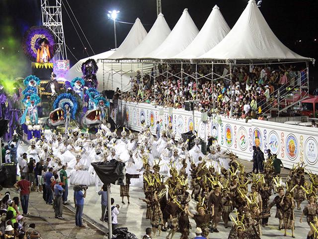 Passarela do Samba, no Anel Viário/Arquivo
