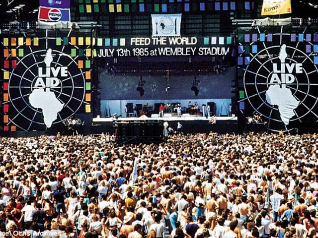 Live Aid. Foto: Divulgação