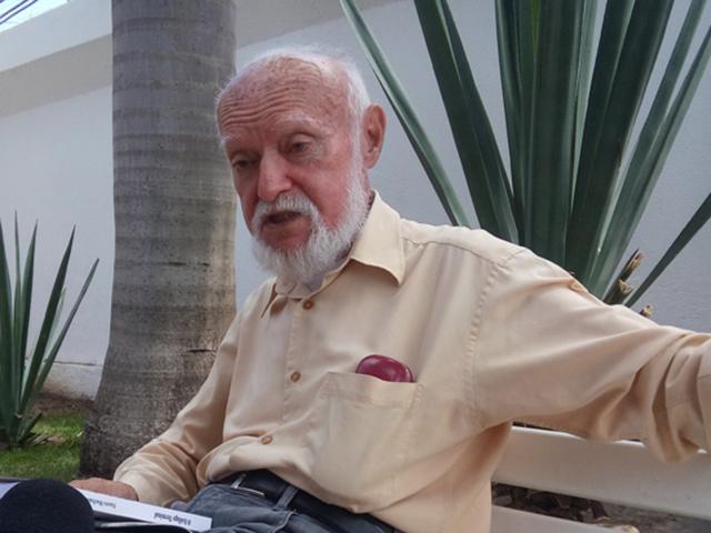 Poeta e escritor maranhense Nauro Machado. Foto: Divulgação