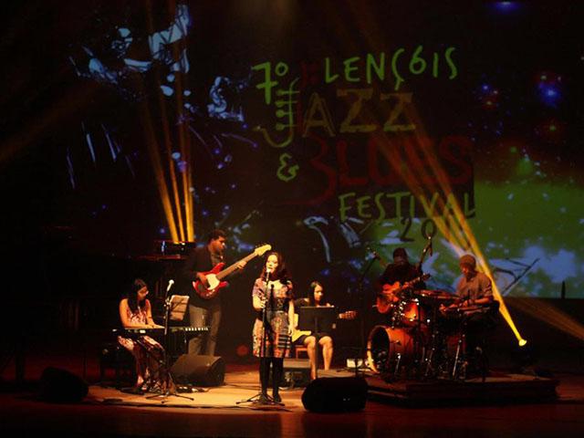 Jazzencontros (MA) no Teatro Artur Azevedo. Foto: Pedro Sobrinho