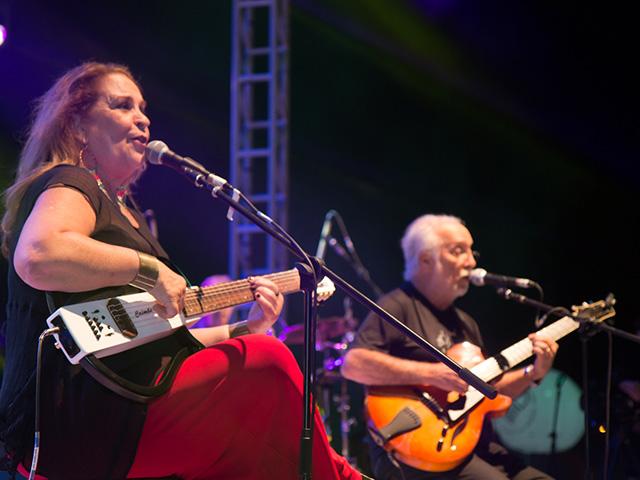 Wanda Sá e Roberto Menescal. Foto: Taciano Brito
