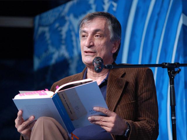 Escritor, poeta e compositor, Antônio Cícero, na Felis. Foto: Divulgação.