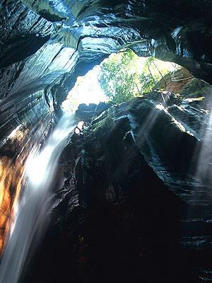 Cachoeira de Pedra Caída, na Chapada das Mesas é destaque (Foto: Christian Kneeper)