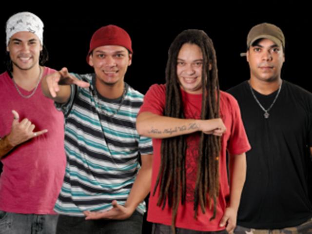 Raiz Tribal animando o projeto de reggae na avenida Litorânea. Foto: Divulgação