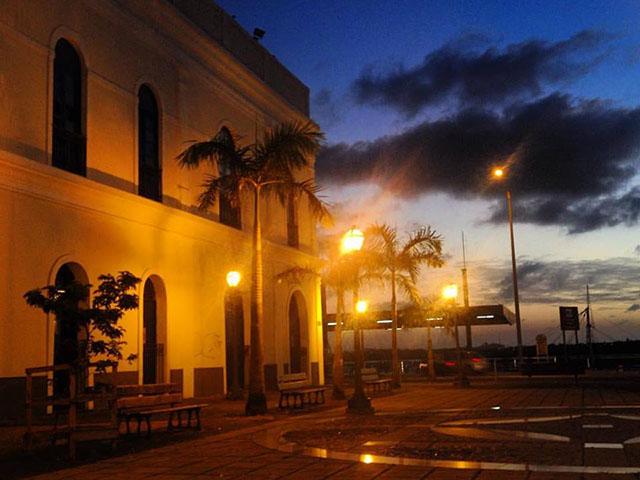 Praça dos Catraeiros, na Praia Grande. Foto: Fafá Lago